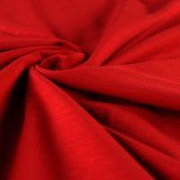 Slub-Jersey rot Stoffe Hemmers
